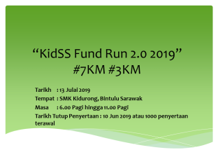 KidSS Fund Run 2019 Adv 1